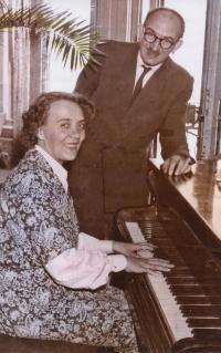 Debreczeni Károly és Sladsky Klára