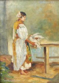 Fekete Nagy Béla festménye