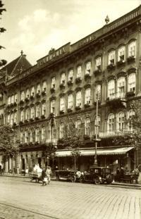 Pannonia Hotel az 1930-as években
